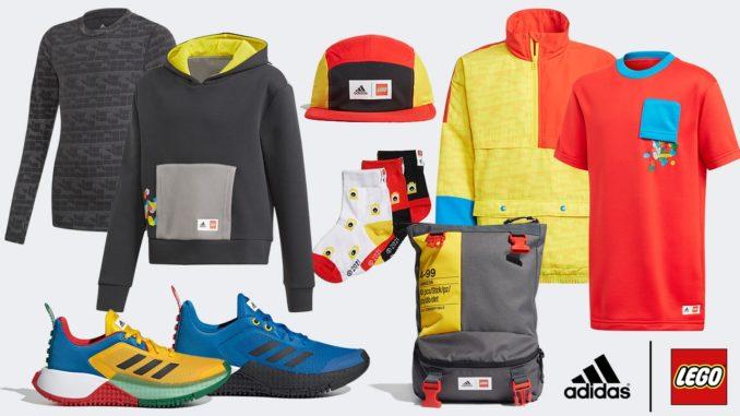 LEGO X Adidas Kollektion