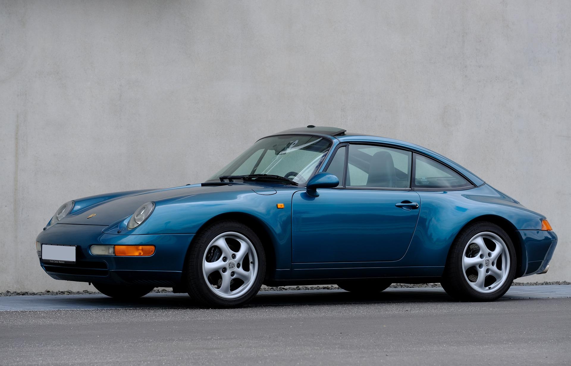Porsche 911 Blau (1)