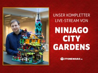 Stonewars Livestream Ninjago City Gardens Finale