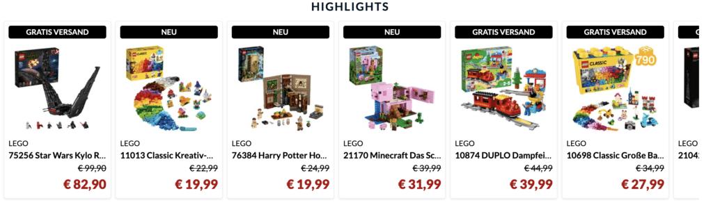 Alternate LEGO Week Hightlights