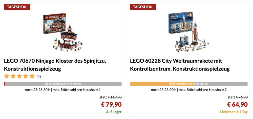 Alternate LEGO Week Tagesdeals