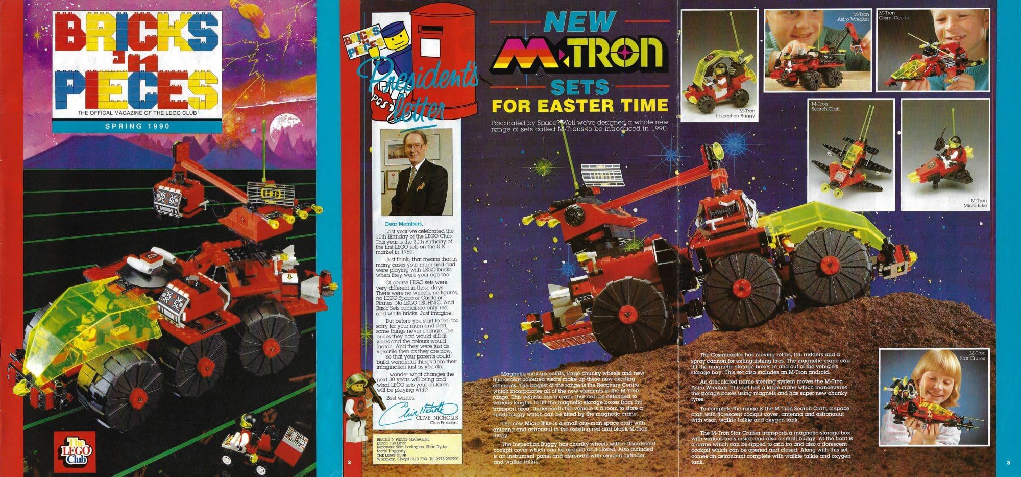 Artikel M Tron Bricksnpieces Frühling 1990