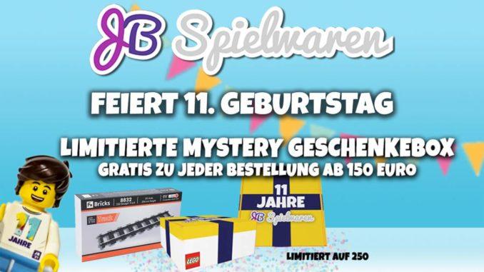 JB Spielwaren 11. Geburtstag LEGO Angebote