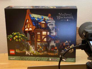 LEGO 21325 Mittelalterliche Schmiede Bau-Stream