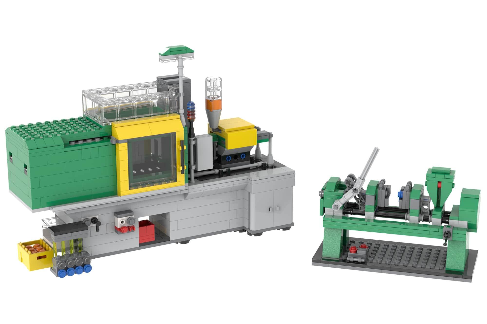 LEGO 4000001 Moulding Machines Render 1
