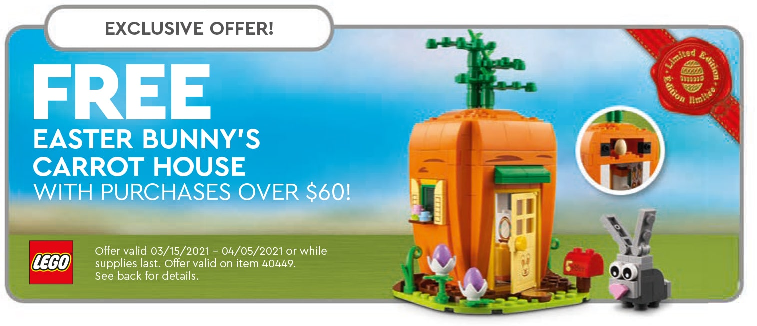LEGO 40449 Easter Bunny House Gwp