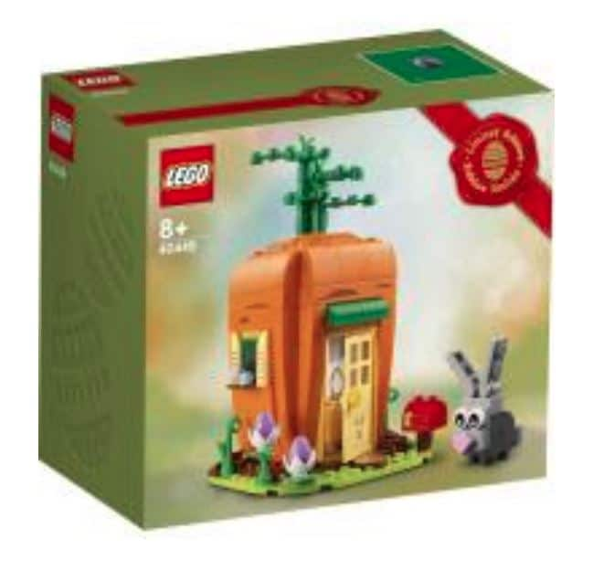 LEGO 40449 Easter Bunnys Carrot House