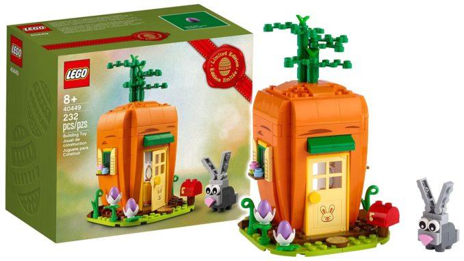 LEGO 40449 Karottenhaus Des Osterhasen
