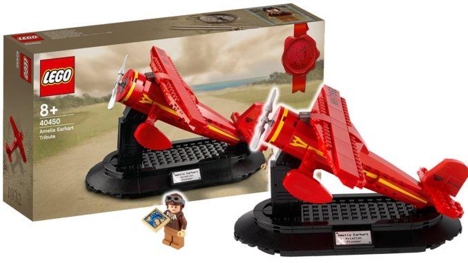 LEGO 40450 Amelia Earhart GWP