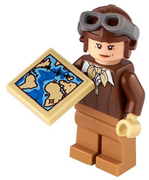 LEGO 40450 Amelia Earhart Minifigure