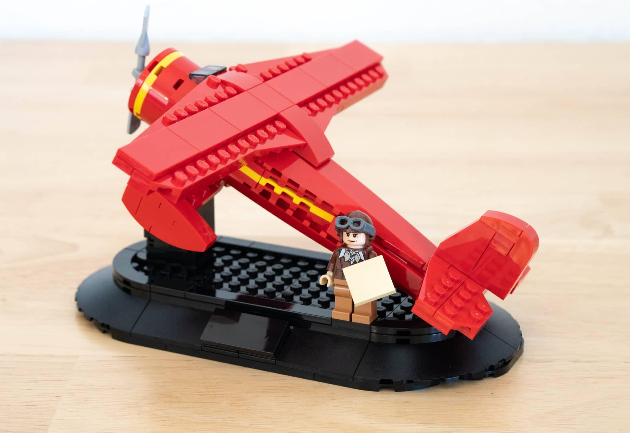 LEGO 40450 Amelia Earhart Ohne Sticker