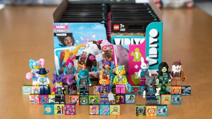 LEGO 43101 Box Verteilung