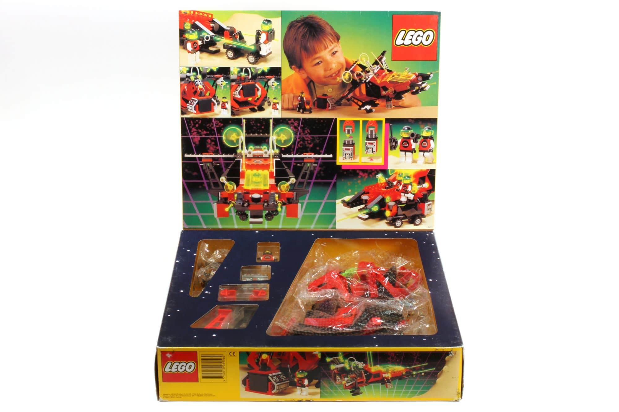 LEGO 6956 M Tron Stellar Recon Voyager Box 4