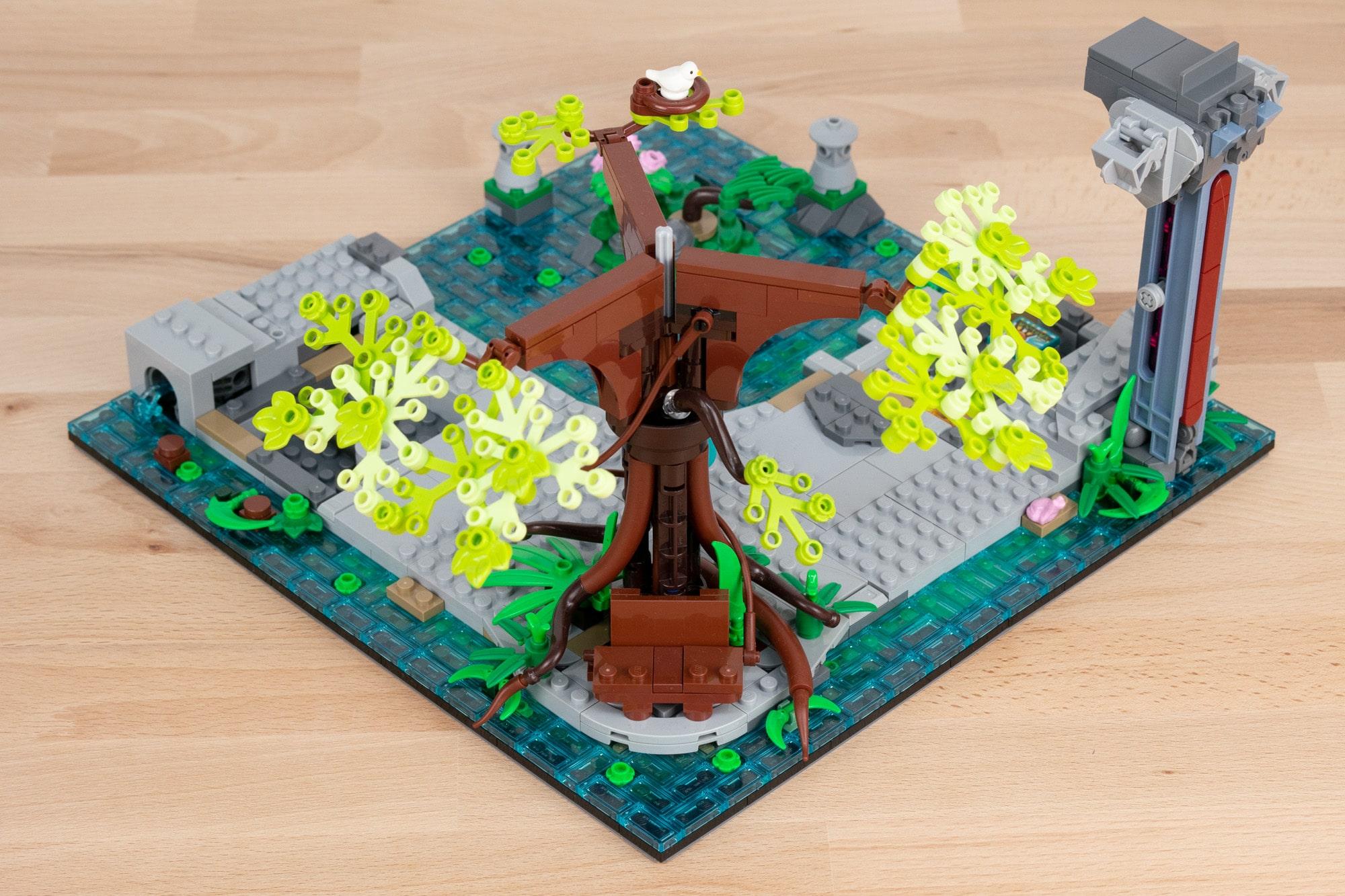 LEGO 71741 Ninjago City Gardens (1 Von 65)
