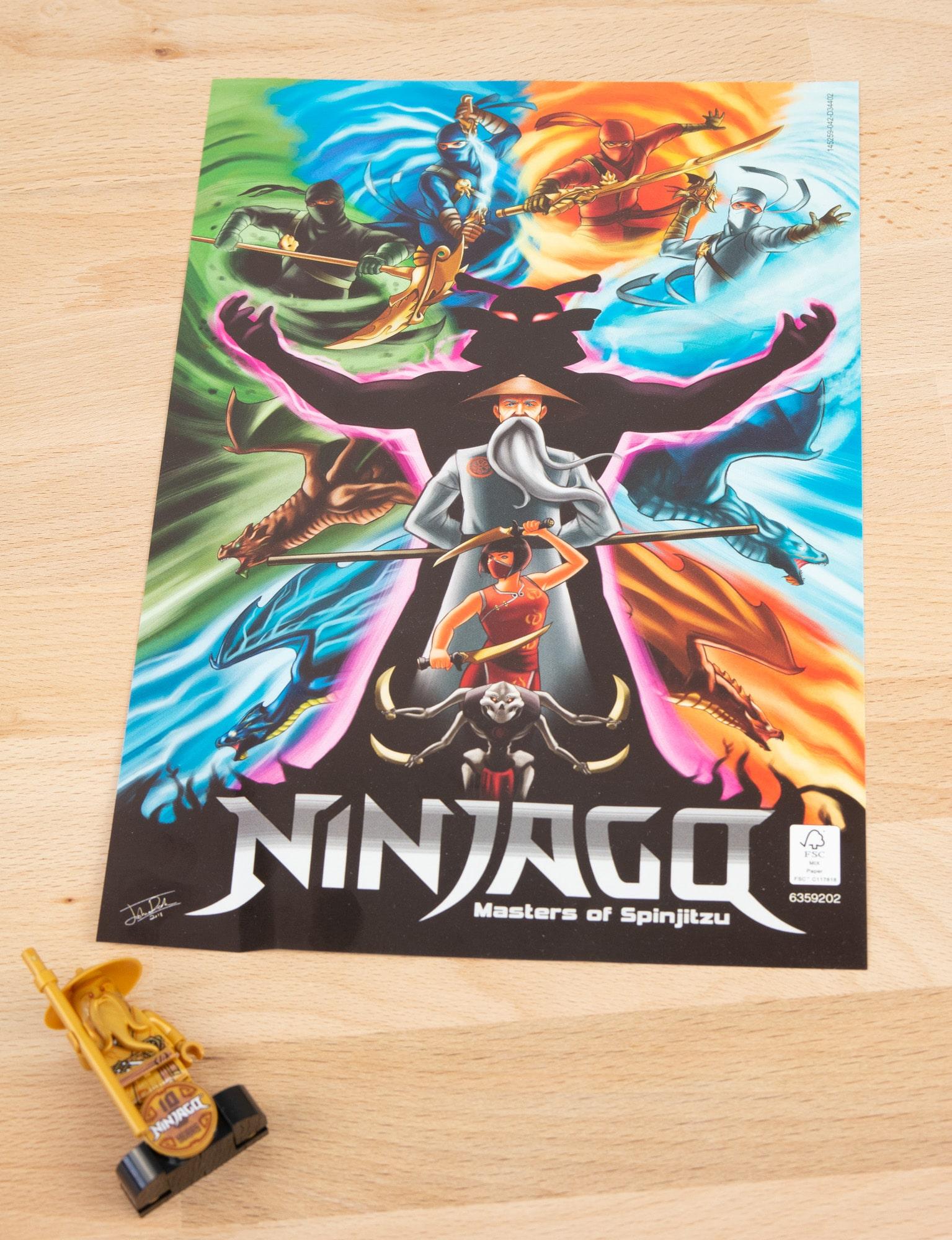 LEGO 71741 Ninjago City Gardens 11