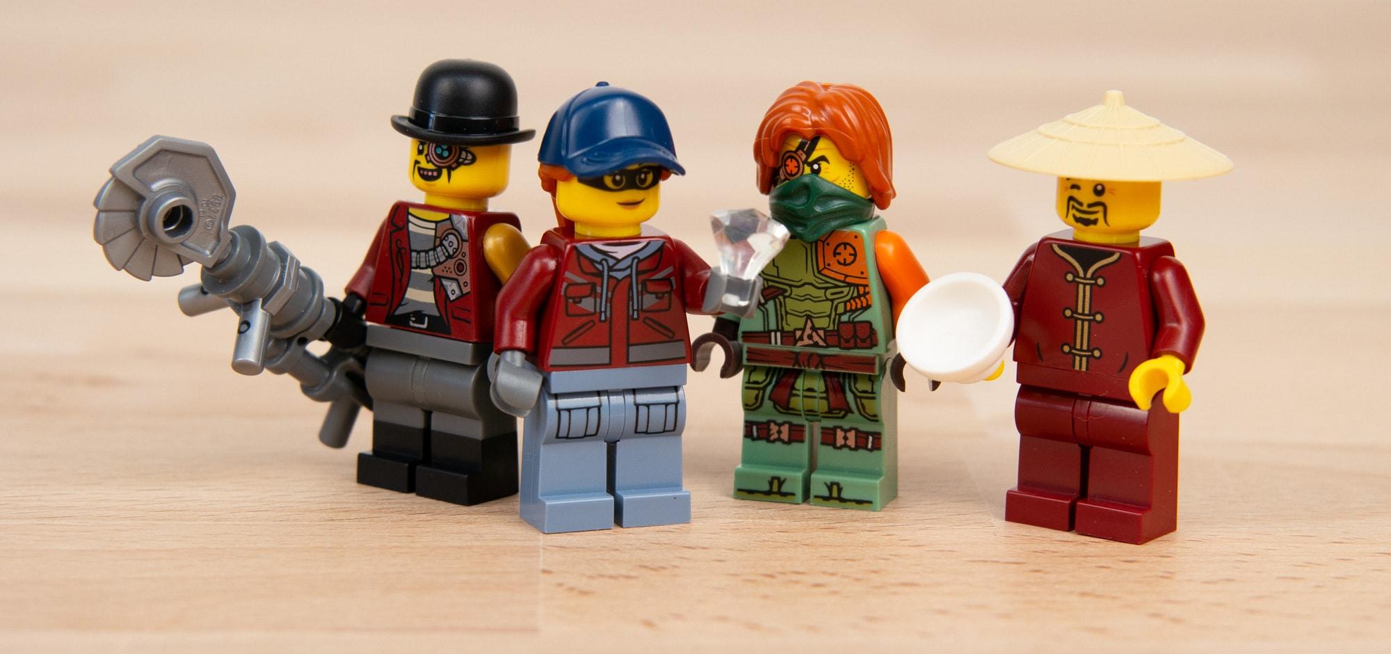 LEGO 71741 Ninjago City Gardens 3