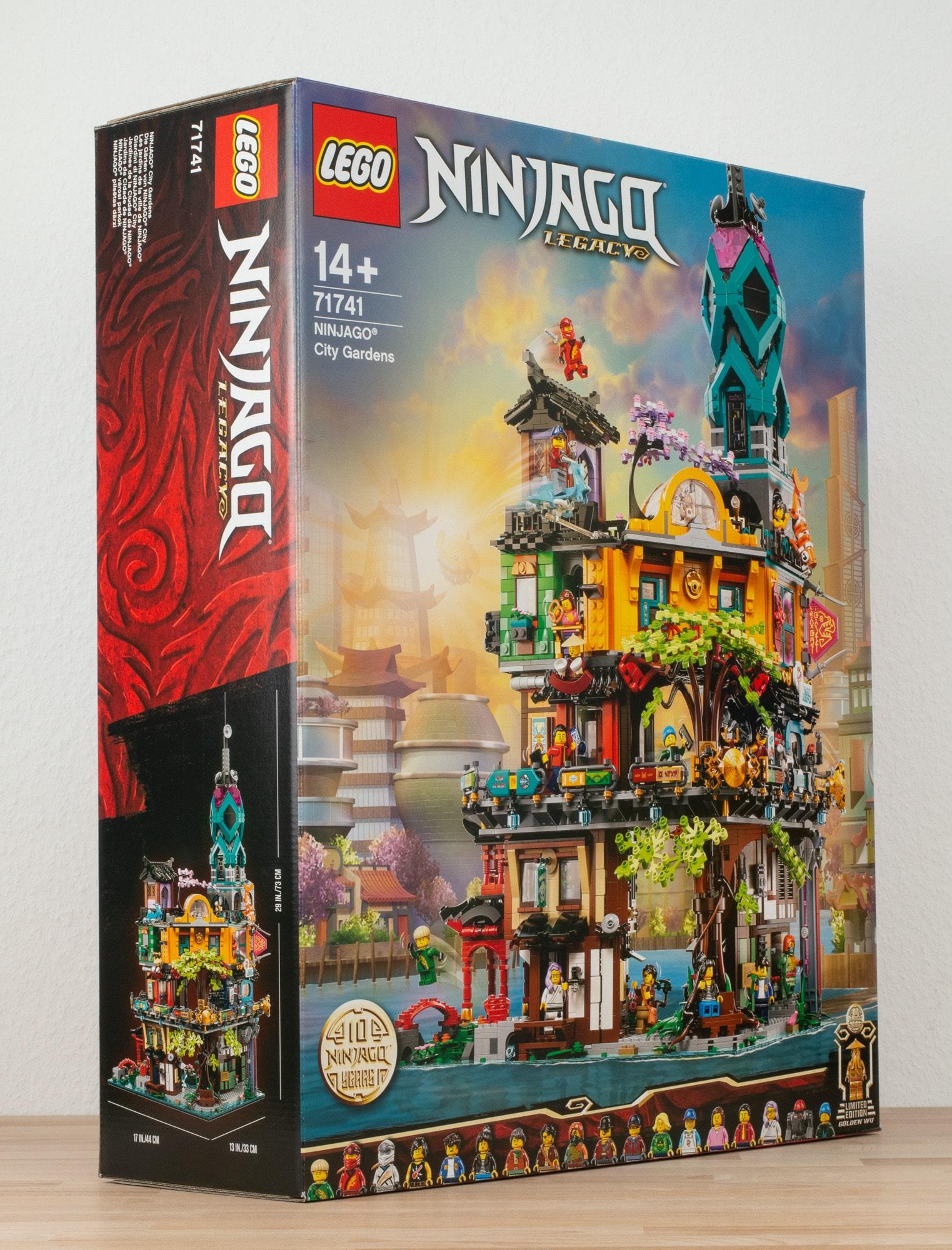 LEGO 71741 Ninjago City Gardens 39