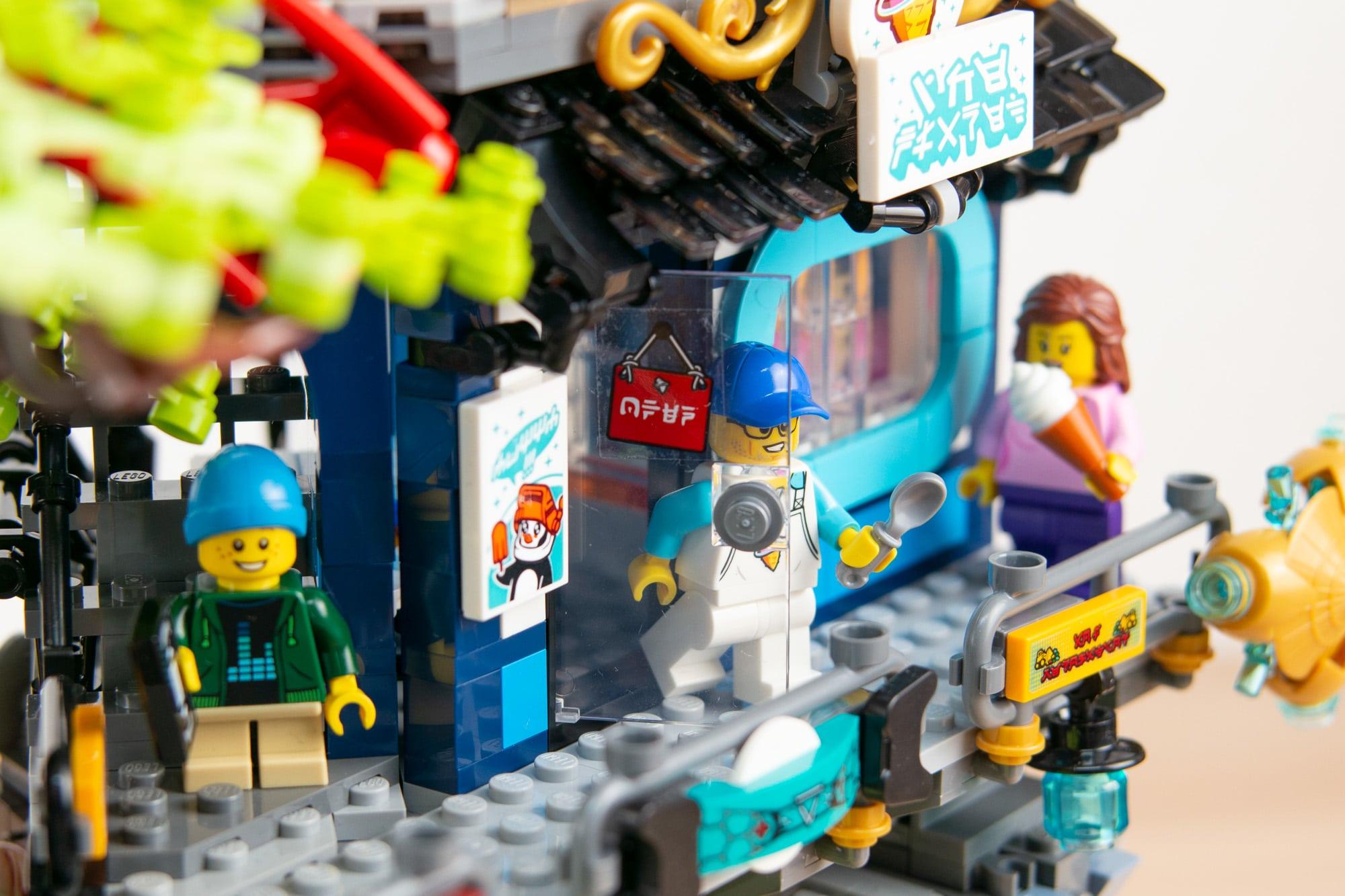 LEGO 71741 Ninjago City Gardens 43