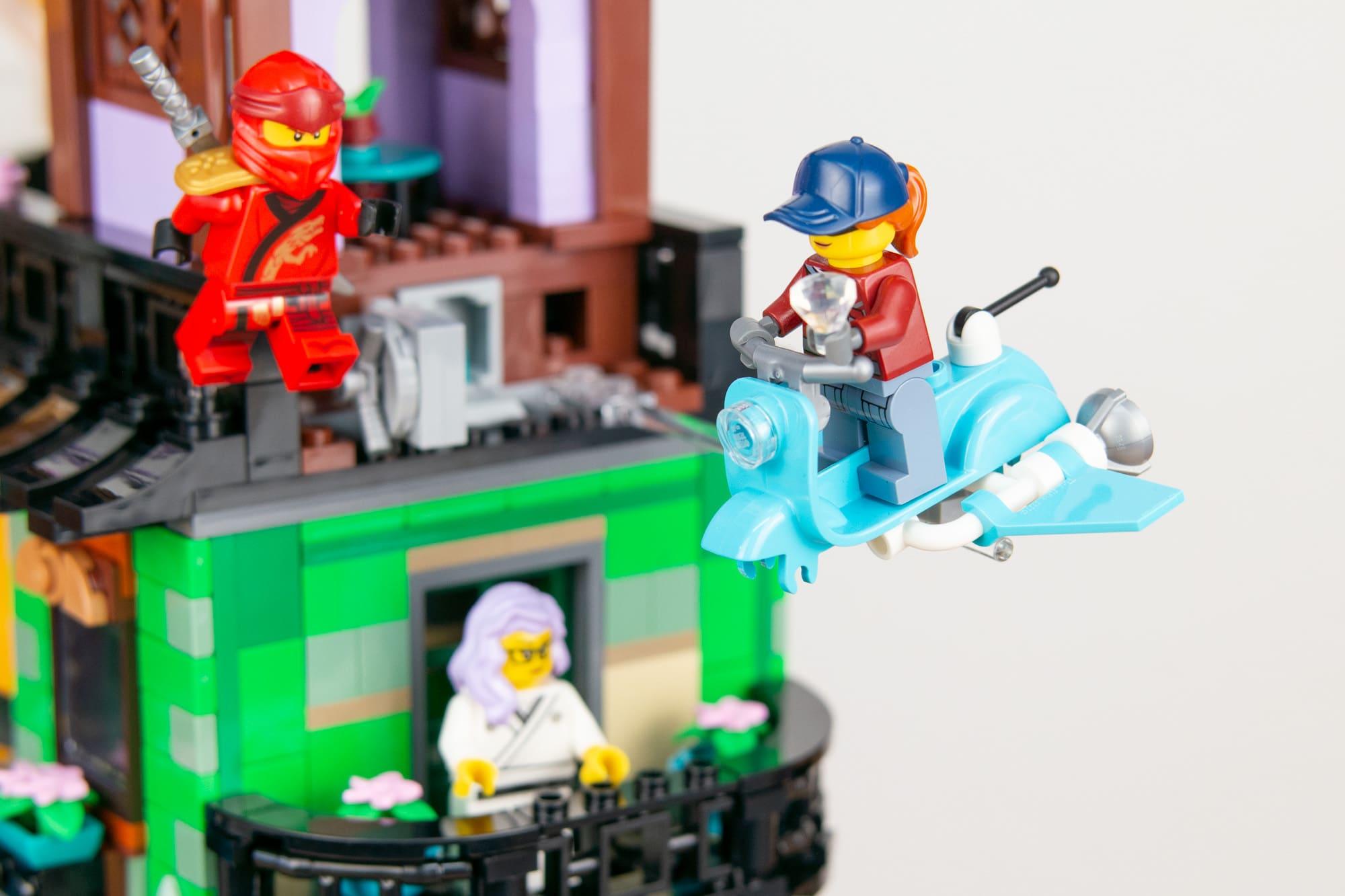LEGO 71741 Ninjago City Gardens 45