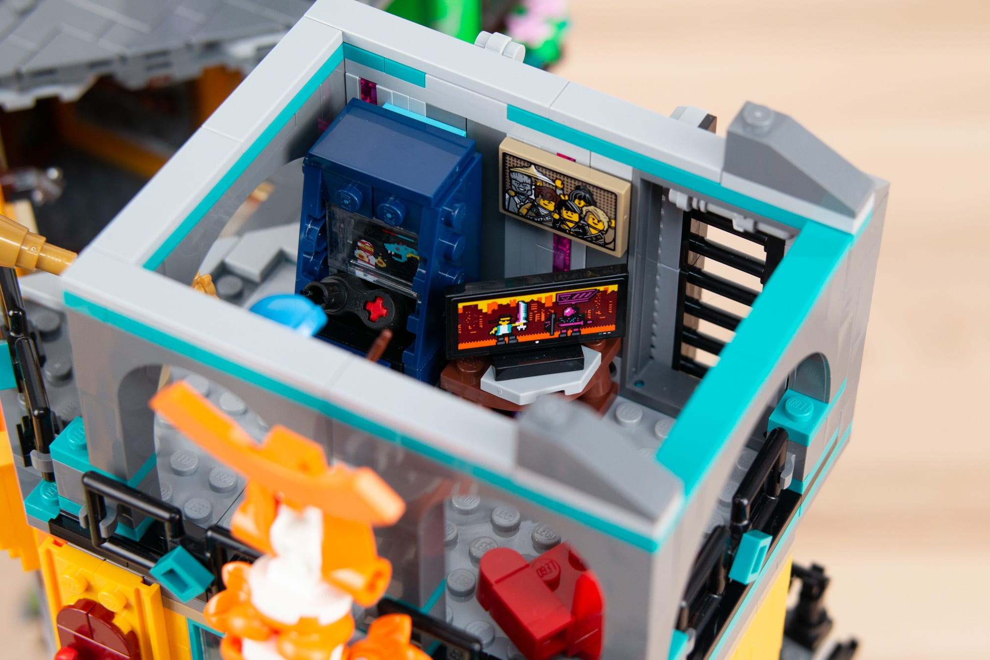 LEGO 71741 Ninjago City Gardens (46 Von 65)