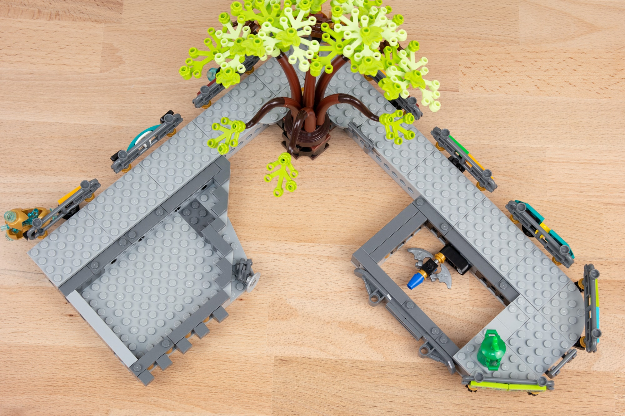 LEGO 71741 Ninjago City Gardens (65 Von 65)