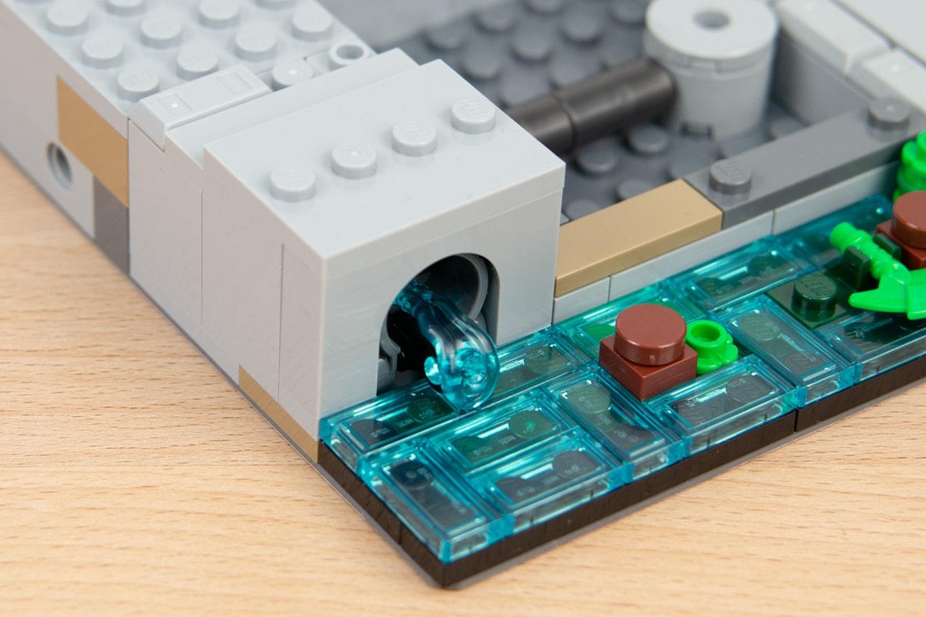 LEGO 71741 Ninjago City Gardens Abwasser 2