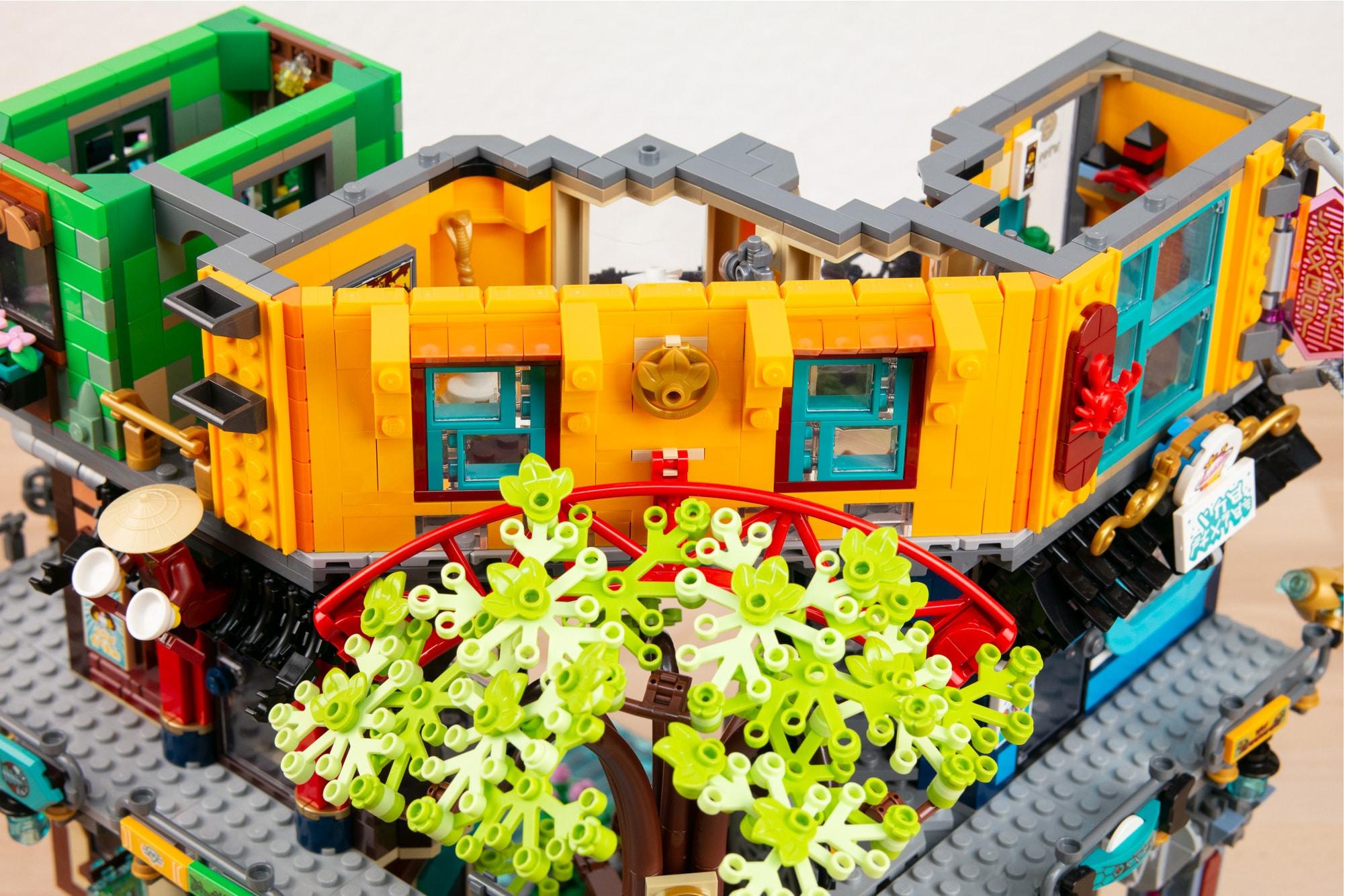 LEGO 71741 Ninjago City Gardens Museum01