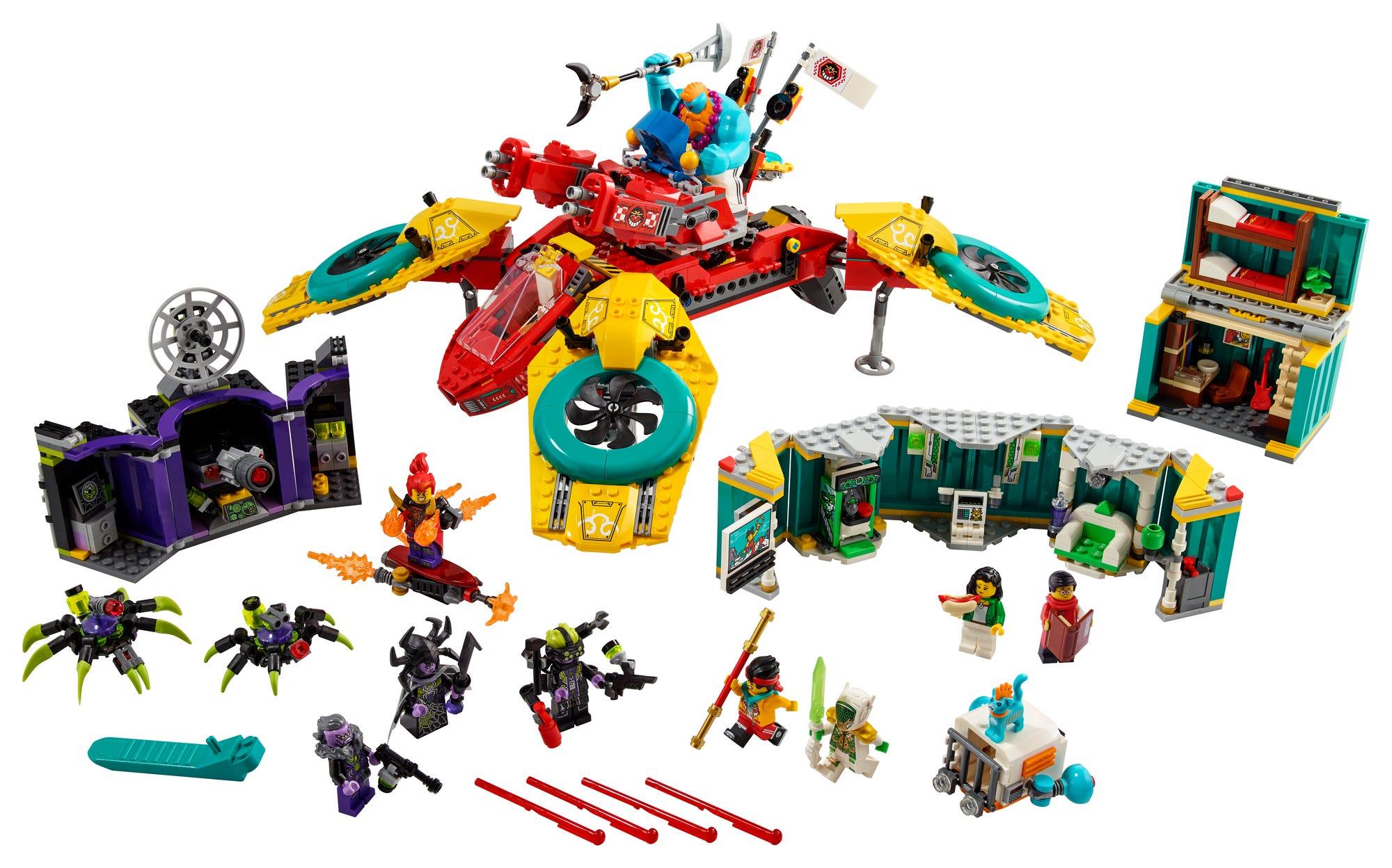 LEGO 80023 Monkie Kids Hubschrauberdrohne (1)