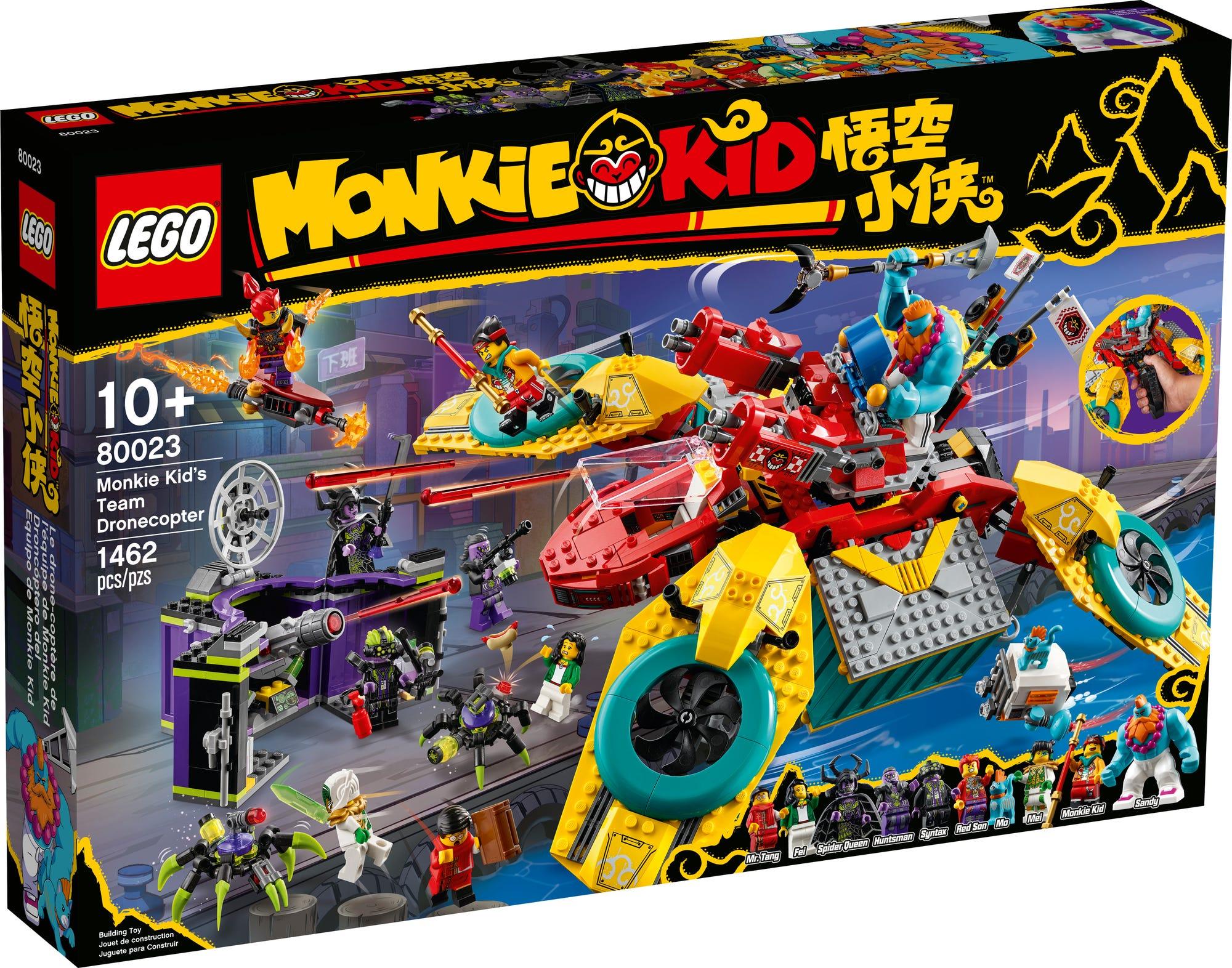 LEGO 80023 Monkie Kids Hubschrauberdrohne (2)