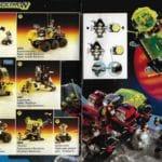 LEGO Blacktron M Tron Scan Katalog 1991
