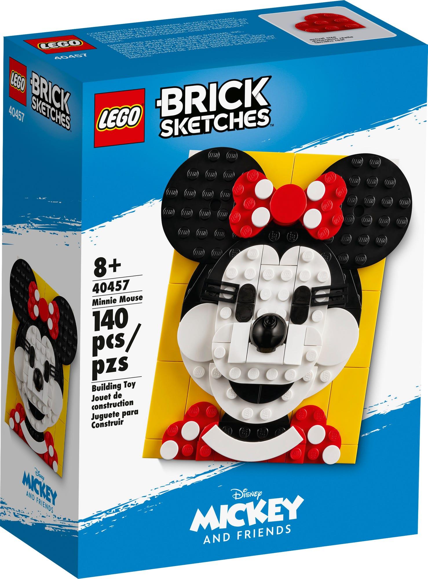 LEGO Brick Sketches 40457 Minnie Mouse (2)