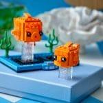 LEGO Brickheadz 40442 Goldfisch 1