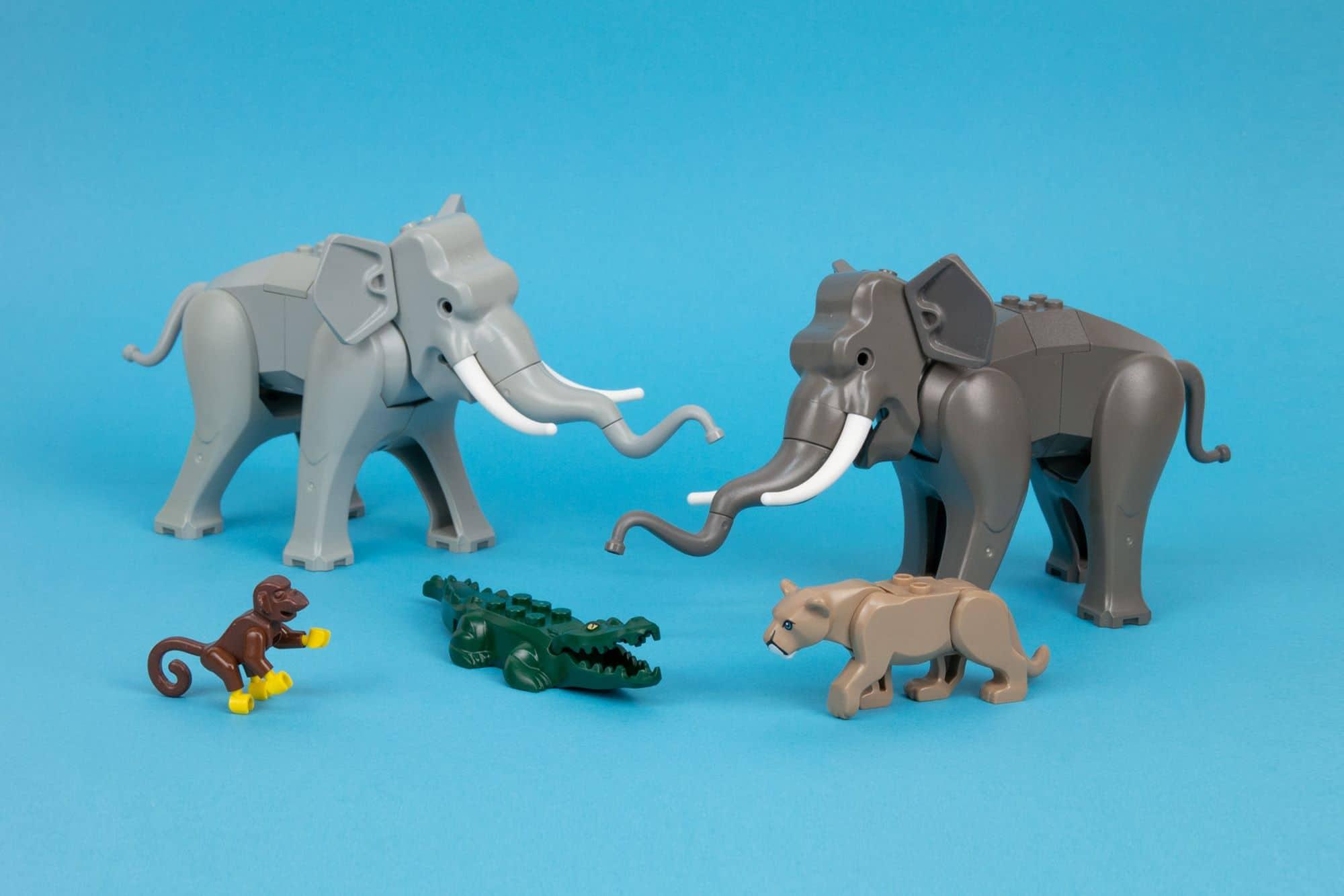 LEGO City 2021 Tierrettung Elefanten Platzhalter