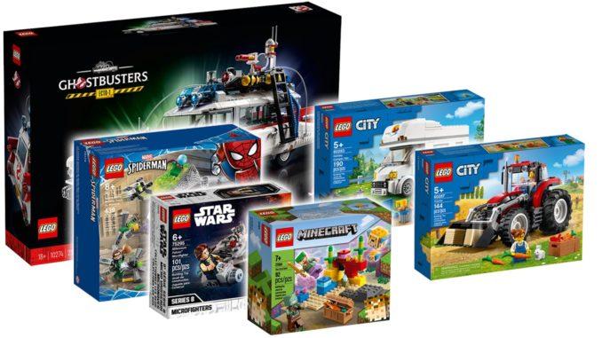 LEGO Einzelhandel Februar 2021