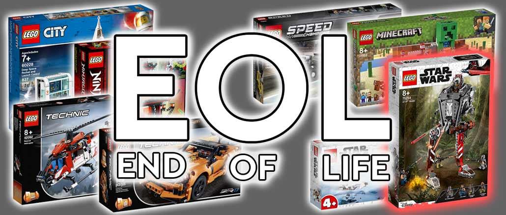 LEGO EOL (End Of Life) März 2021