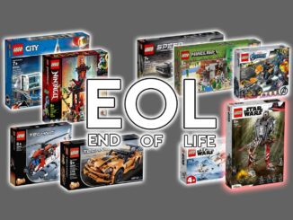 LEGO EOL (End Of Life) März 2021