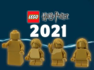 LEGO Harry Potter 2021 Neuheiten Goldene Figuren