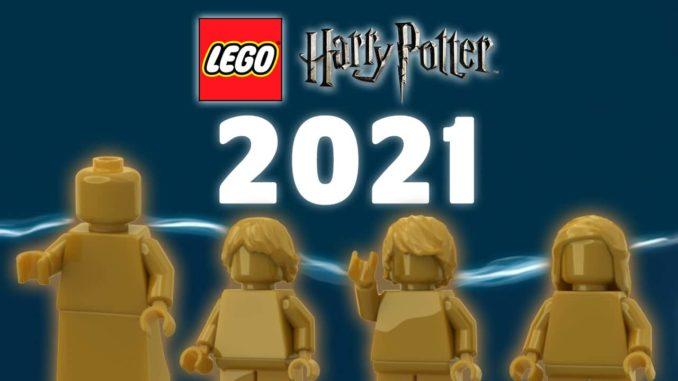 LEGO Harry Potter 2021 Neuheiten Goldene Figuren