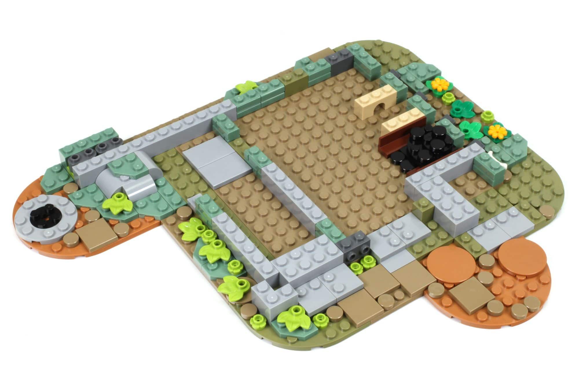 LEGO Ideas 21325 Mittelalterliche Schmiede Bauabschnitt 1 1