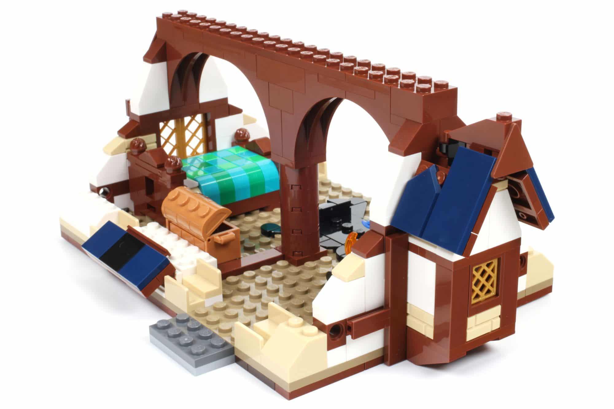 LEGO Ideas 21325 Mittelalterliche Schmiede Bauabschnitt 10 3