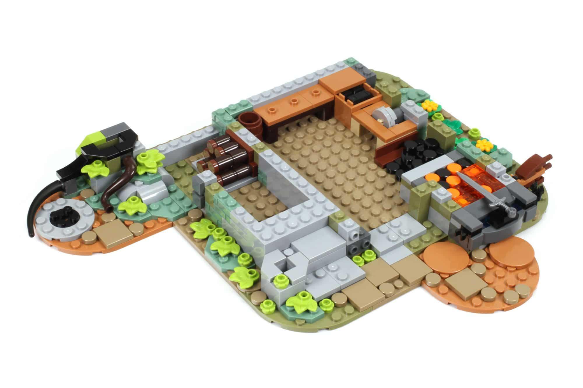 LEGO Ideas 21325 Mittelalterliche Schmiede Bauabschnitt 2 1