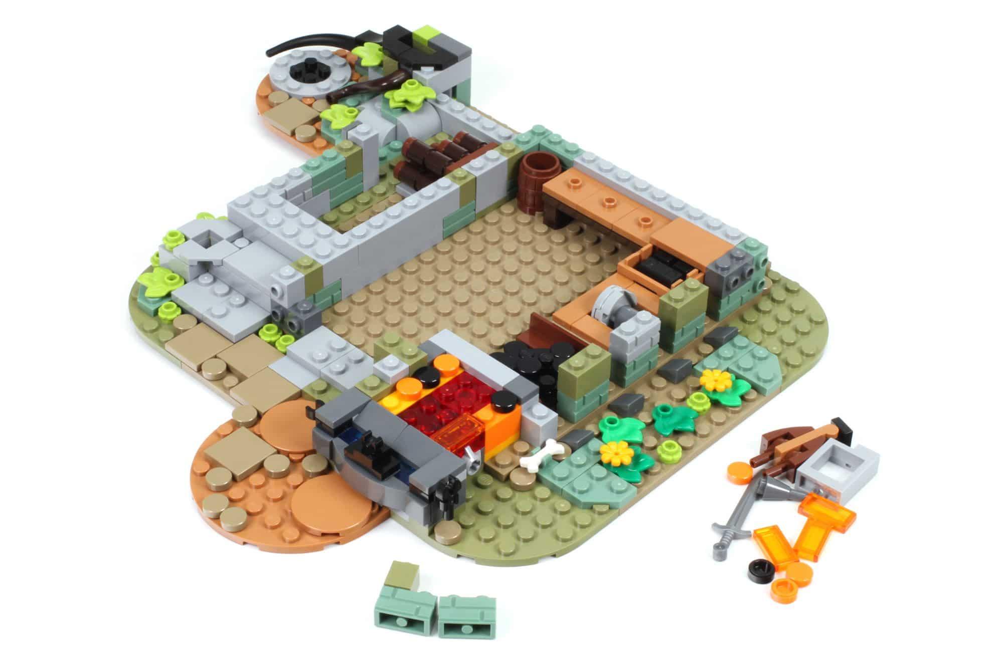 LEGO Ideas 21325 Mittelalterliche Schmiede Bauabschnitt 2 2