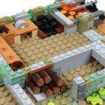 LEGO Ideas 21325 Mittelalterliche Schmiede Bauabschnitt 2 5