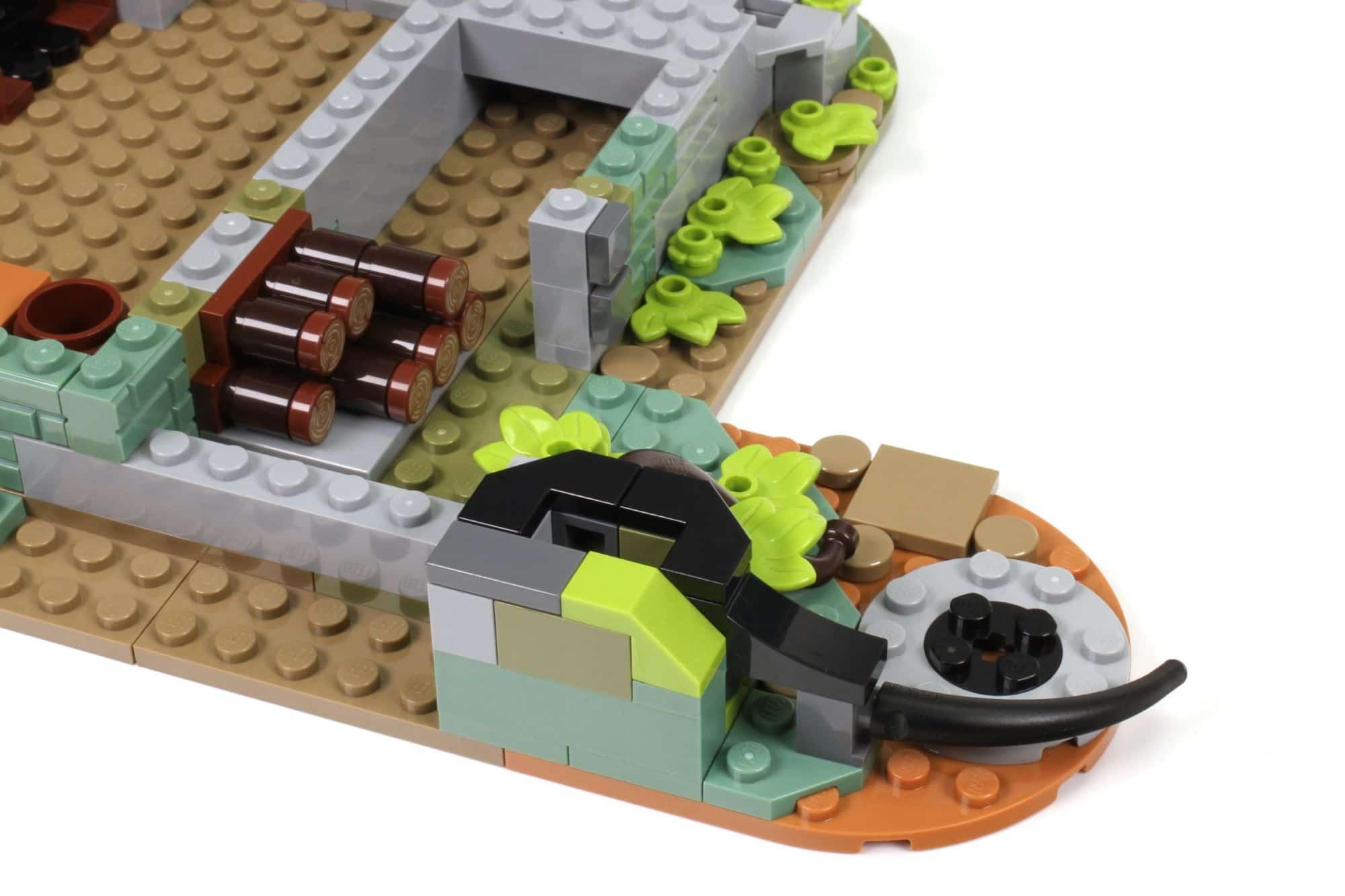 LEGO Ideas 21325 Mittelalterliche Schmiede Bauabschnitt 2 6