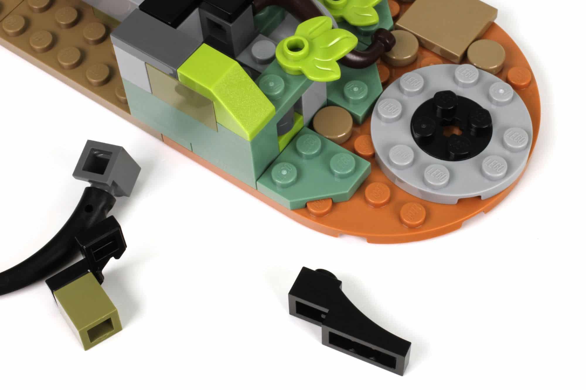 LEGO Ideas 21325 Mittelalterliche Schmiede Bauabschnitt 2 7