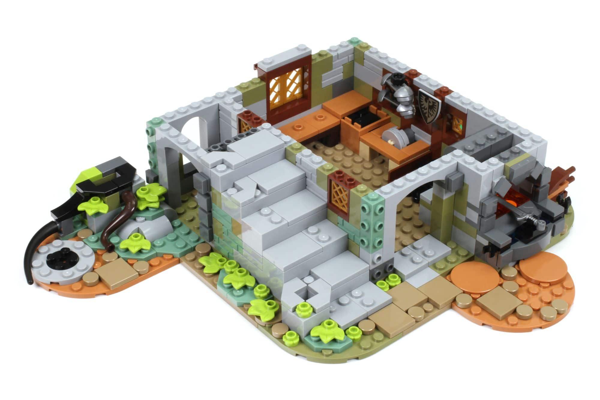 LEGO Ideas 21325 Mittelalterliche Schmiede Bauabschnitt 3 1