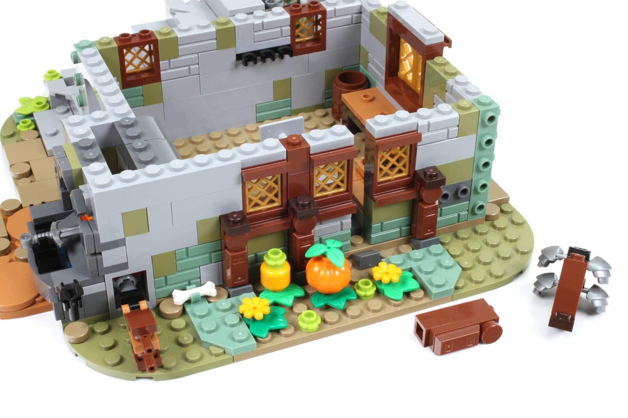 LEGO Ideas 21325 Mittelalterliche Schmiede Bauabschnitt 3 4