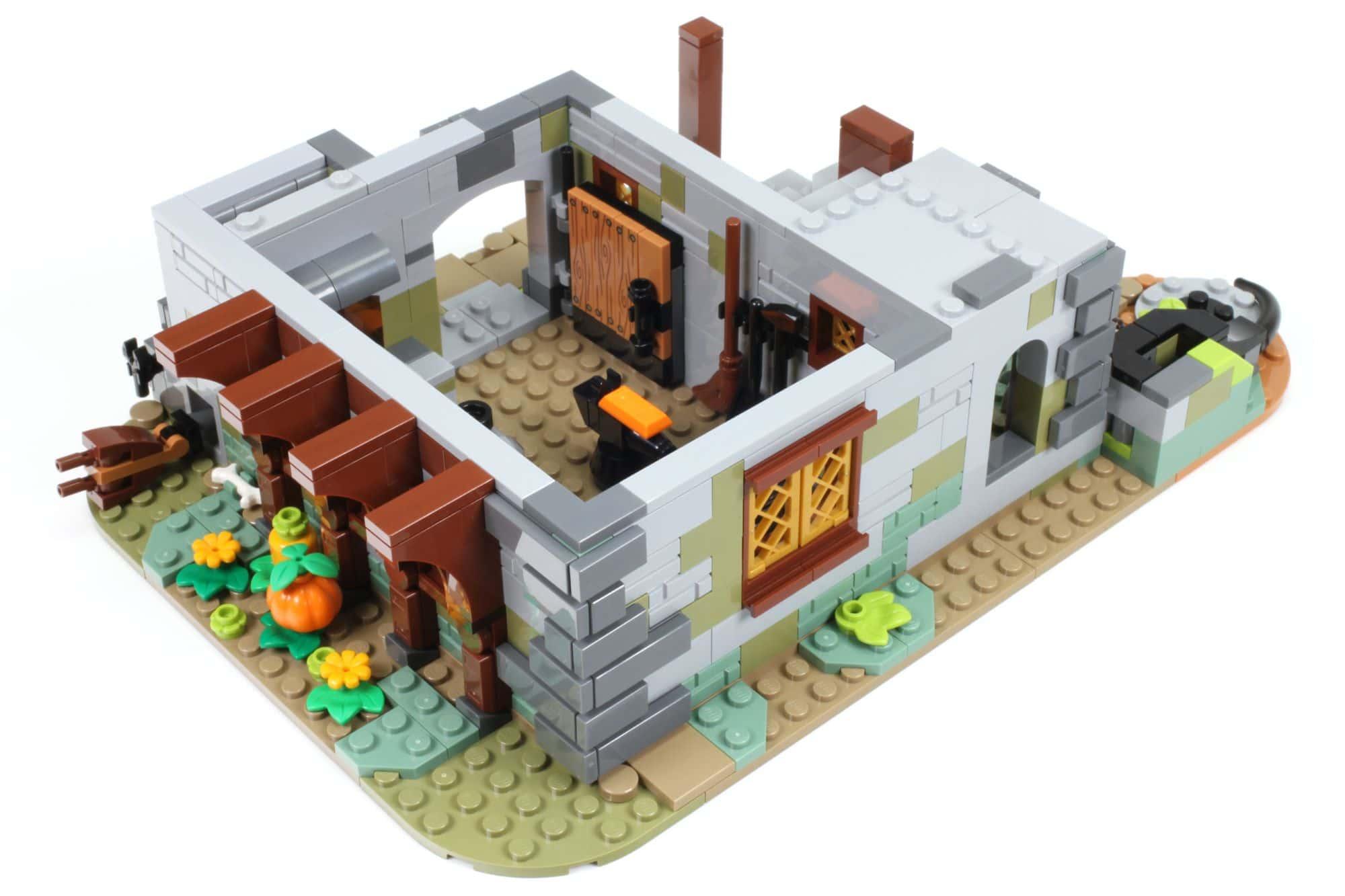LEGO Ideas 21325 Mittelalterliche Schmiede Bauabschnitt 4 2