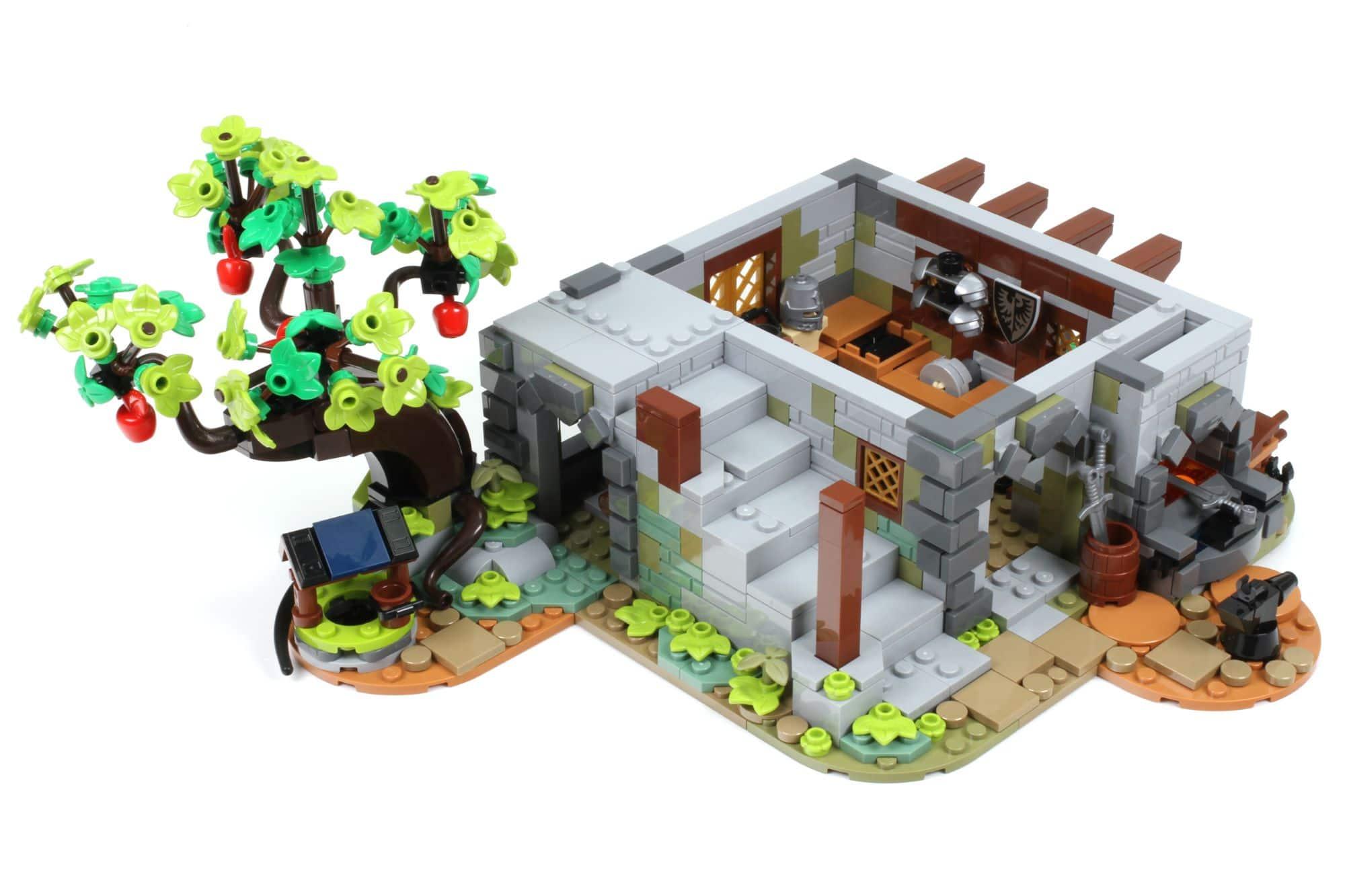 LEGO Ideas 21325 Mittelalterliche Schmiede Bauabschnitt 5 1