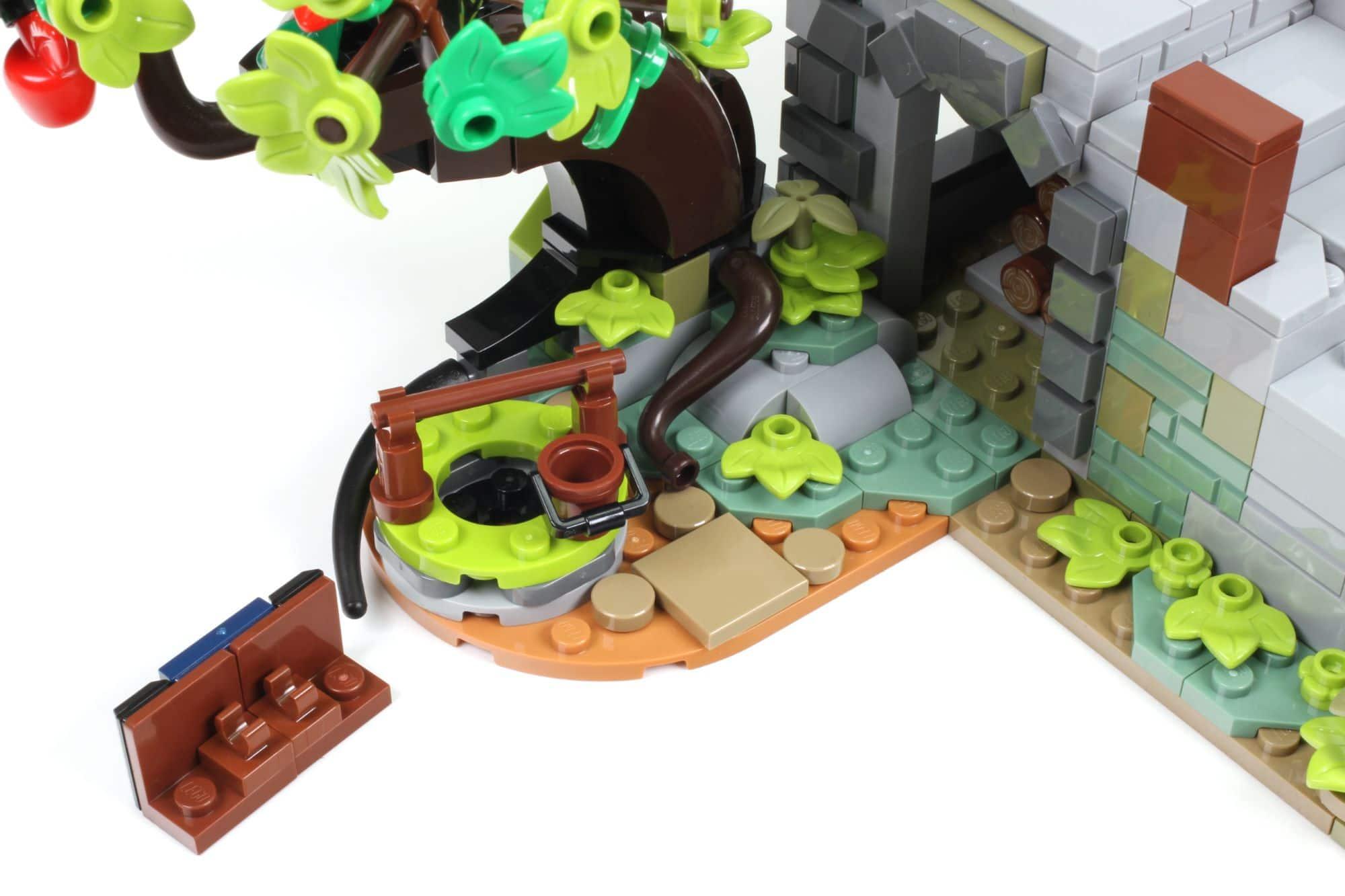 LEGO Ideas 21325 Mittelalterliche Schmiede Bauabschnitt 5 5
